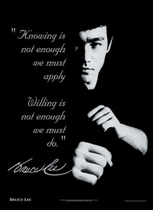 Bruce lee quote Chinese Quotes