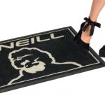 Nylon Doormat on durable rubber backing for O'NEILL shops