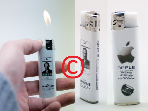 Apple Iphone Steve Jobs Lighter