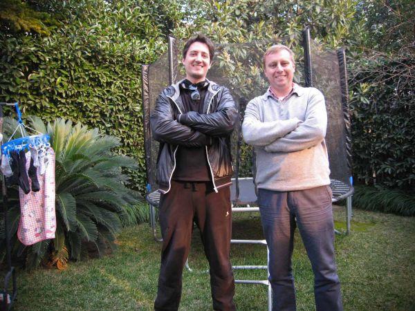 Marc van der Chijs en Camiel van Velthoven