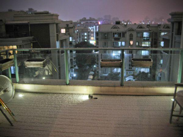 Sneeuw in China