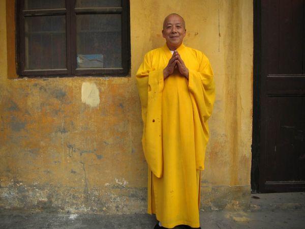 Tempel - Chinese Monnik